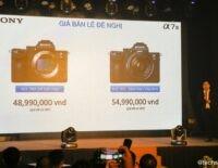 Máy ảnh không gương lật Full-Frame Sony A7 III ra mắt, giá 49 và 55 triệu đồng