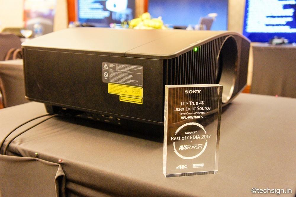 Sony ra mắt máy chiếu 4K HDR VPL-VW760ES