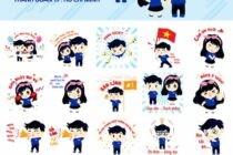 Thành Đoàn TP.Hồ Chí Minh ra mắt bộ Sticker mới trên Zalo