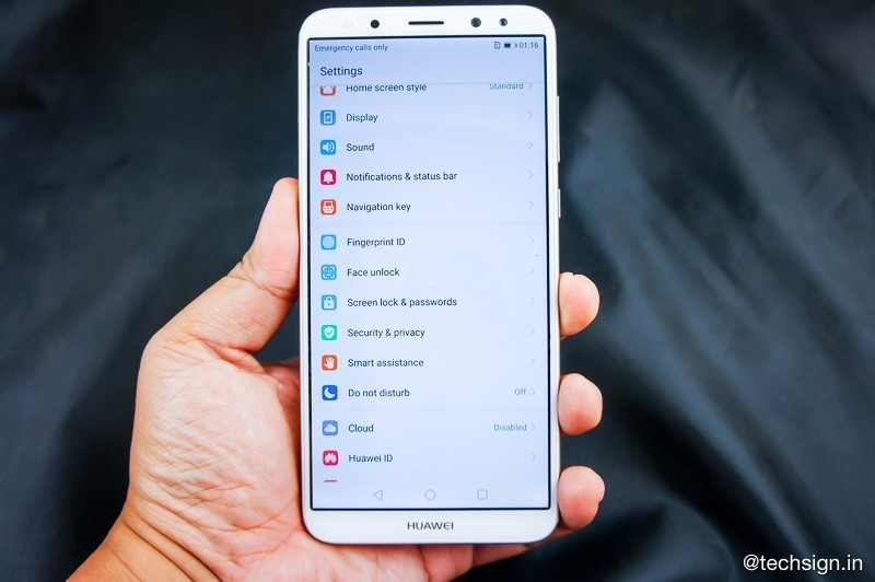 Hướng dẫn thiết lập mở khóa bằng khuôn mặt trên Huawei Nova 2i