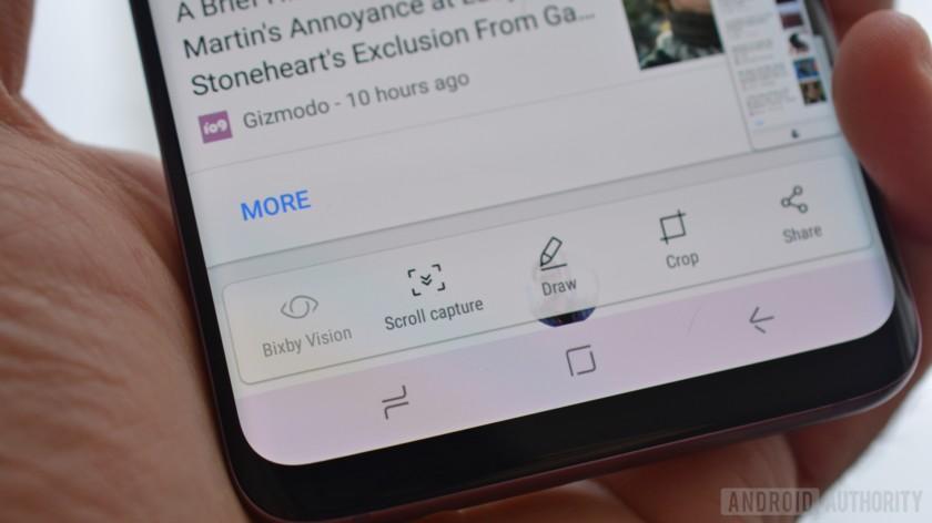 6 cách chụp màn hình trên Samsung Galaxy S9 và S9 Plus