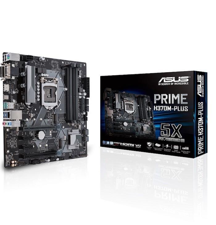 ASUS ra mắt dòng bo mạch chủ mới dùng chipset H370, B360 và H310