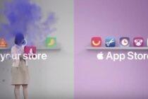 Apple tiếp tục 'đá xoáy' Google trong clip quảng cáo mới ra mắt