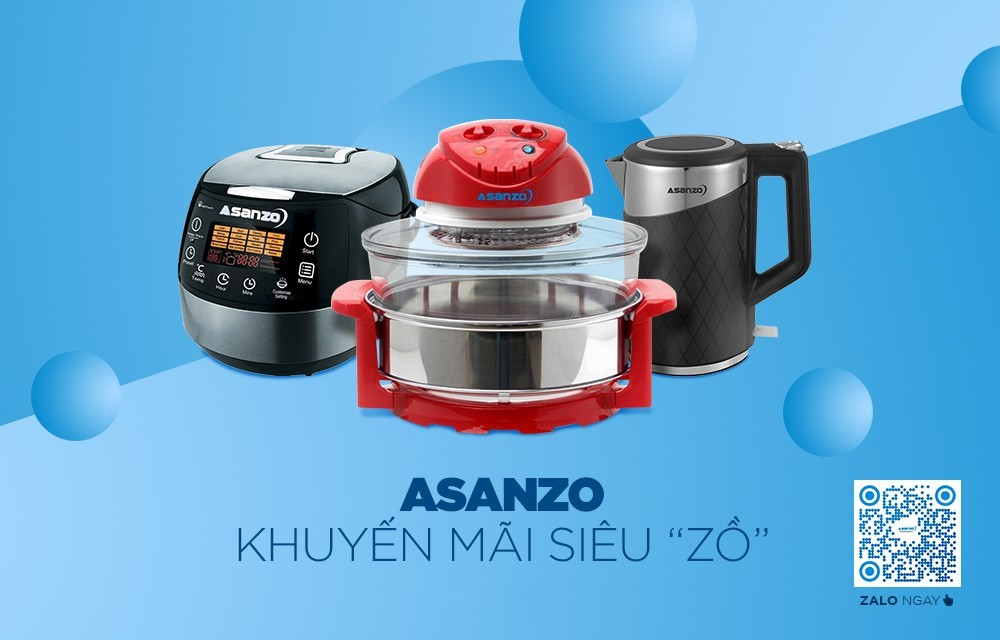 Asanzo mở khuyến mãi lên đến 50% trên Zalo