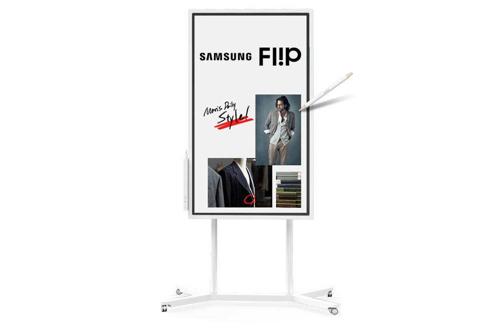 Ra mắt Samsung Flip WM55H, bảng flipchart điện tử phục vụ cuộc họp hiện đại