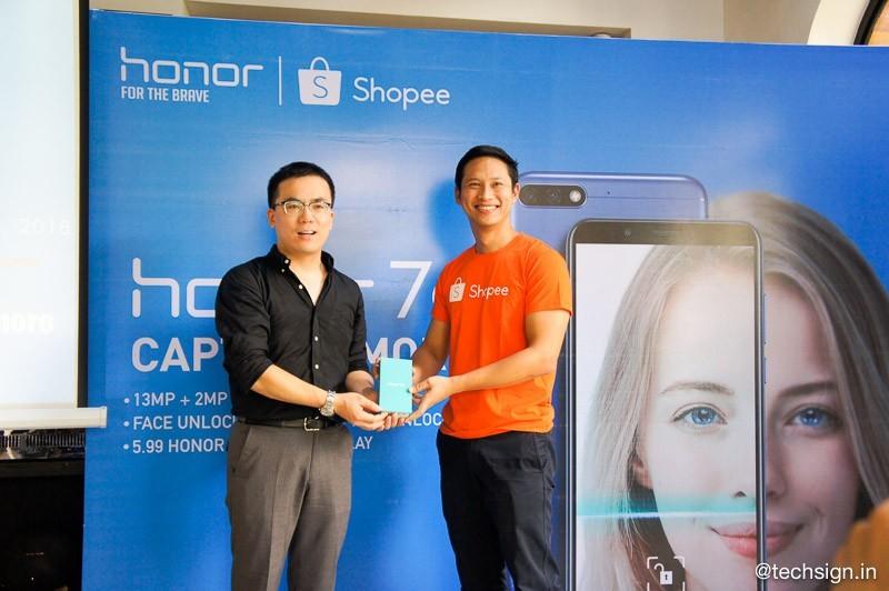 Honor 7C ra mắt: camera kép, 3 màu, giá 4 triệu
