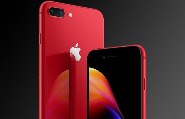 iPhone 8, 8 Plus đỏ ra mắt, giá bằng phiên bản cũ