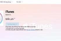 iTunes có thể tải trực tiếp từ Microsoft Store