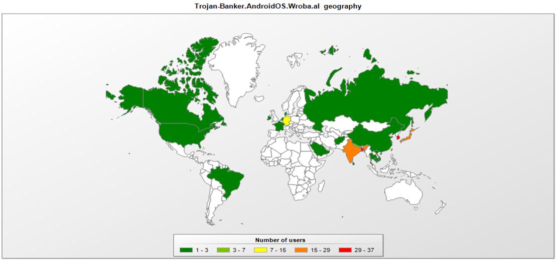 Kaspersky Lab phát hiện malware Roaming Mantis nhắm đến smartphone tại châu Á