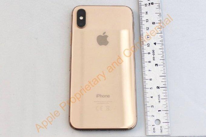 Hé lộ thông tin iPhone X Gold