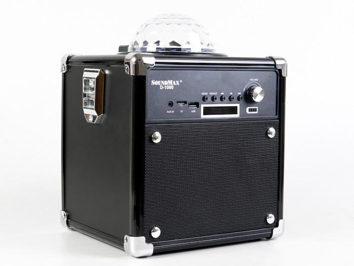 SoundMax ra mắt loa D-1000 Disco Cube cho giải trí gia đình