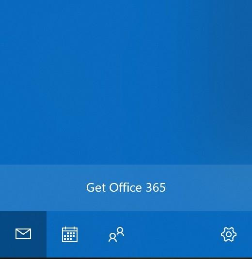 Microsoft hiển thị quảng cáo Office 365 ngay cả trong ứng dụng Mail của Windows 10