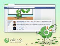 Người dùng tố Cốc Cốc ăn cắp tài khoản Facebook