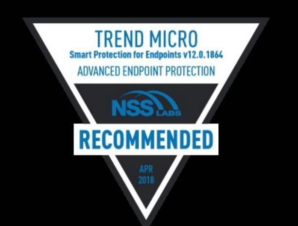 NSS Labs đánh giá cao sản phẩm Trend Micro sau bài thử nghiệm bảo mật