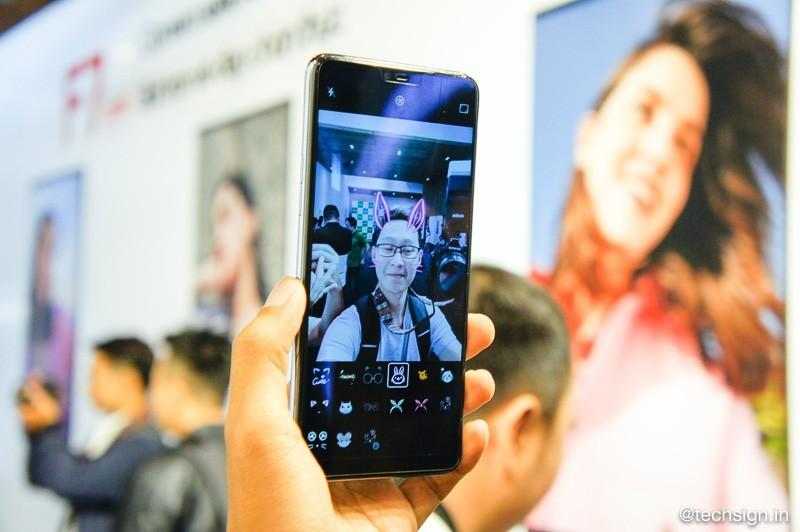 OPPO F7 chính thức ra mắt: tai thỏ, camera trước 25MP, giá từ 8 triệu đồng