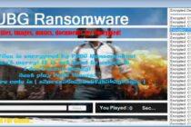PUBG Ransomware: Bắt người dùng chơi game PUBG để chuộc lại tập tin