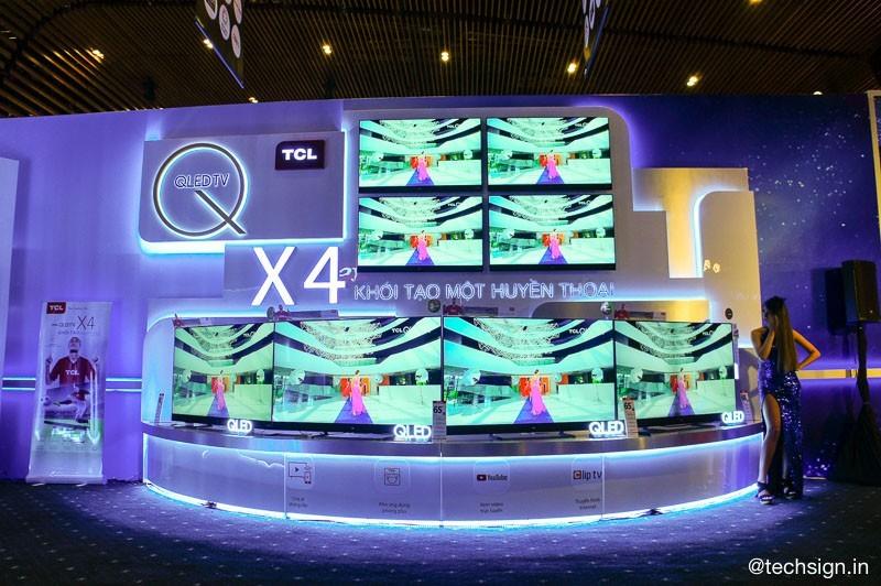 TCL ra mắt 4 dòng sản phẩm TV QLED và UHD mới