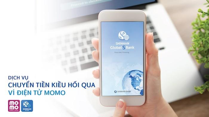 Shinhan Bank và MoMo triển khai dịch vụ kiều hối