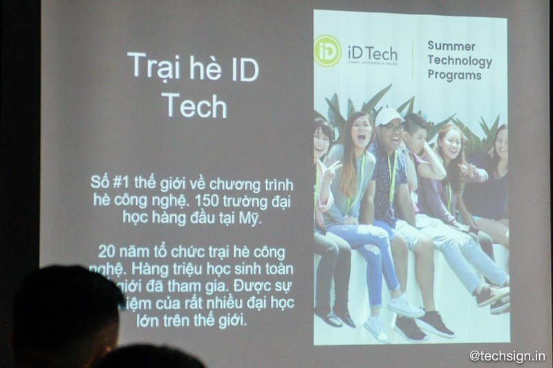 Teky giới thiệu trại hè công nghệ 2018 cho trẻ em