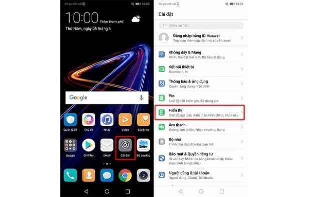 Các thủ thuật nhất định phải biết khi sử dụng Huawei Nova 3e