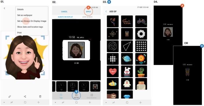 Tối ưu hóa giao diện người dùng với Galaxy S9 và S9 +