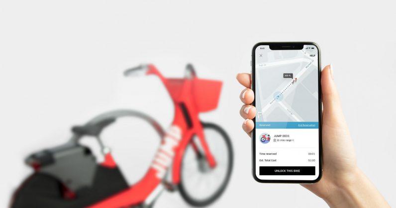 Uber mở thêm dịch vụ chia sẻ xe đạp