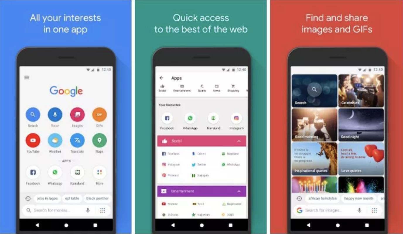 Ứng dụng Google Go khắc phục đường truyền Internet chậm