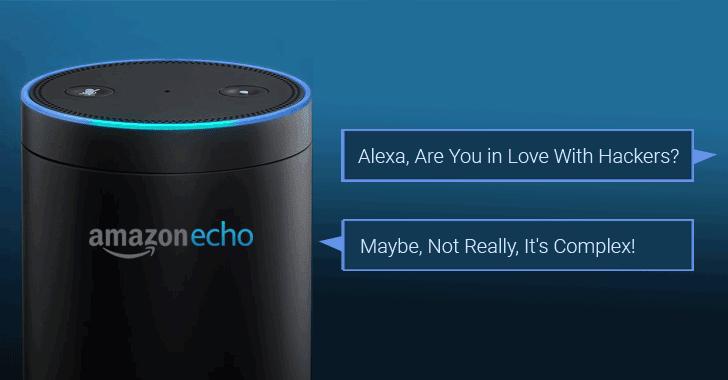 Amazon Alexa có thể bị hacker biến thành thiết bị nghe lén