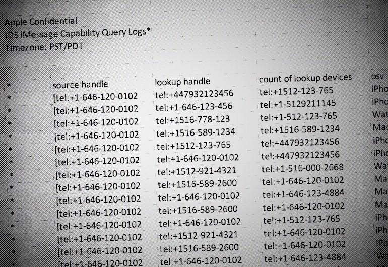 Apple lưu rất ít dữ liệu người dùng