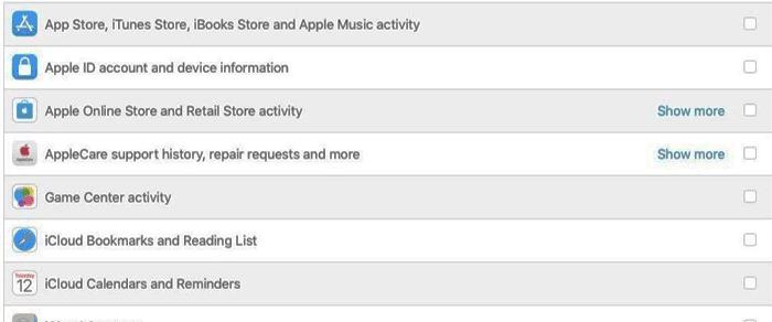Cách tải xuống dữ liệu cá nhân tài khoản Apple