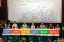 """Ra mắt dự án giáo dục """"lập trình tương lai cùng Google"""""""