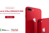 FPT Shop lên kệ iPhone 8/8 Plus (PRODUCT) RED từ hôm nay 14/5