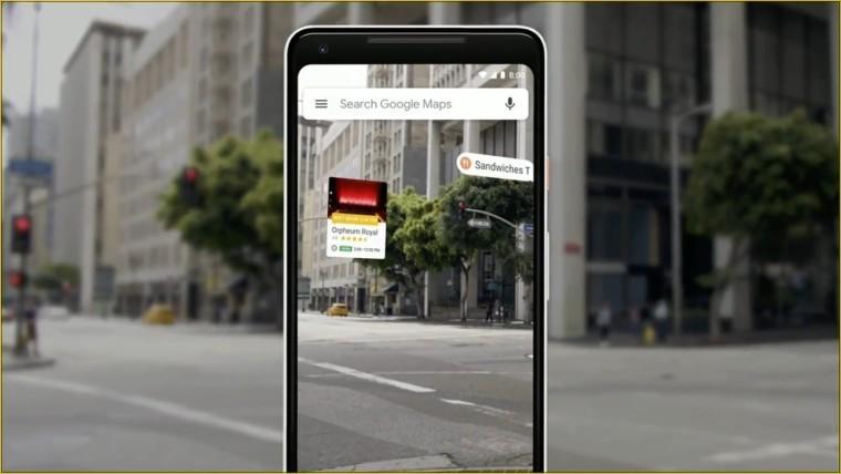 Google dùng AR để dẫn đường dễ hơn trên ứng dụng Google Maps