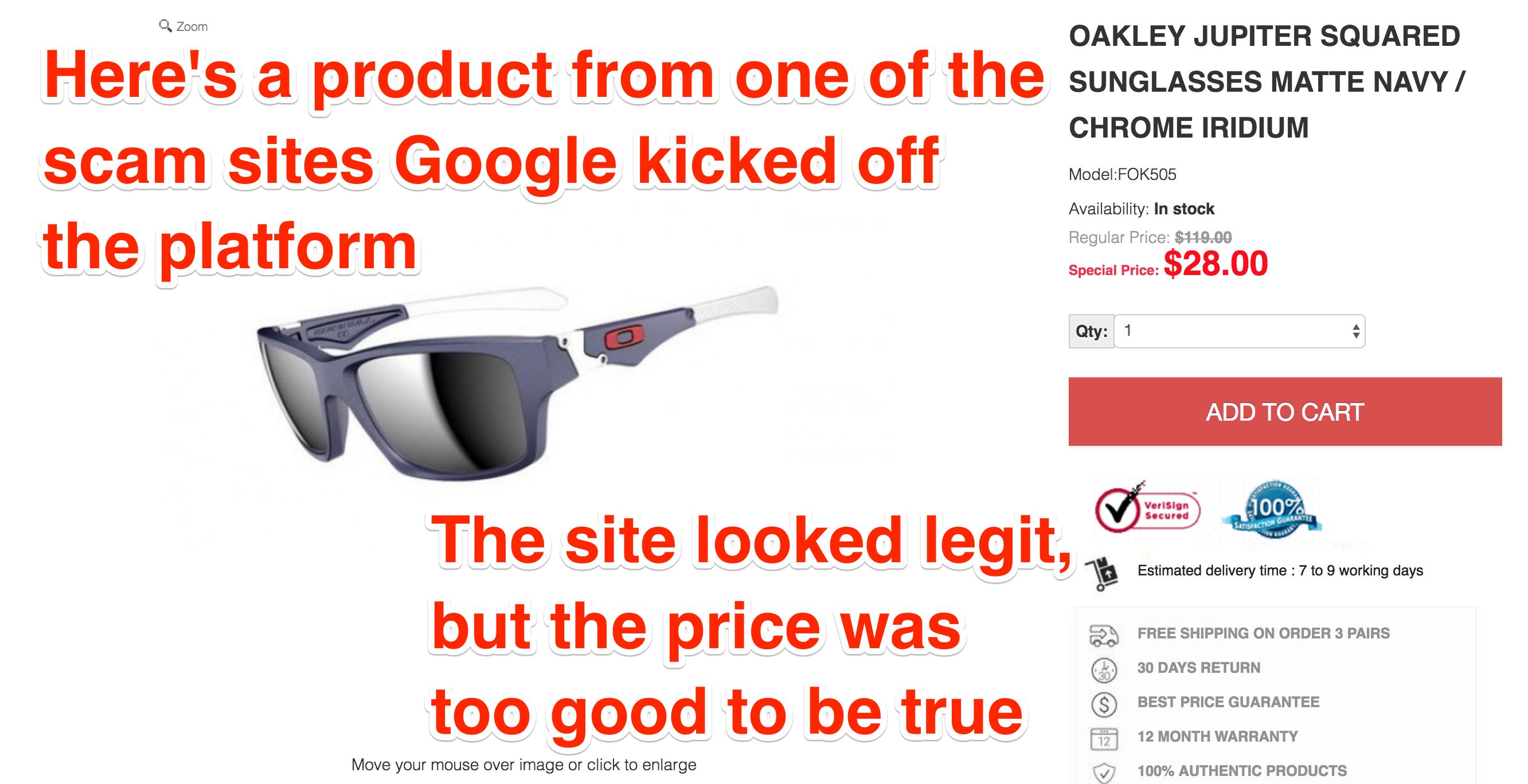 Google điều tra nhiều website bán hàng vì nhân viên bị lừa 28 USD