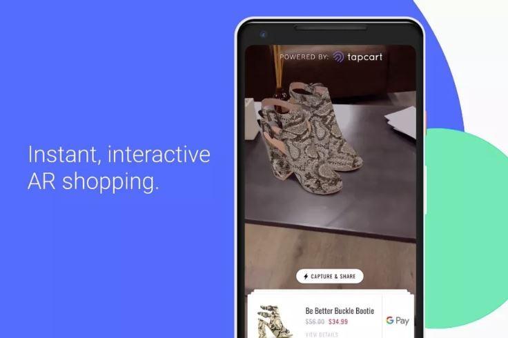 Google Instant Apps được bổ sung AR