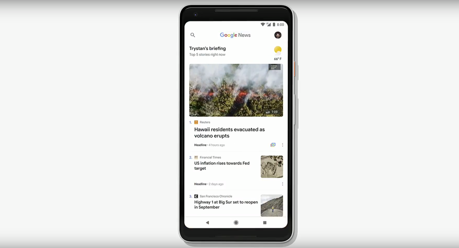 Google tích hợp AI trên dịch vụ tin tức News