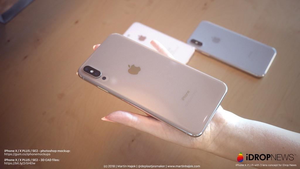 Bản dựng iPhone X Plus giống tin đồn đến 90%