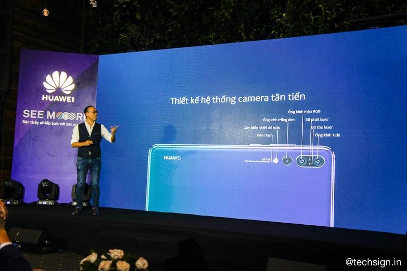 Flagship Huawei P20 Pro ra mắt giá 19,9 triệu đồng