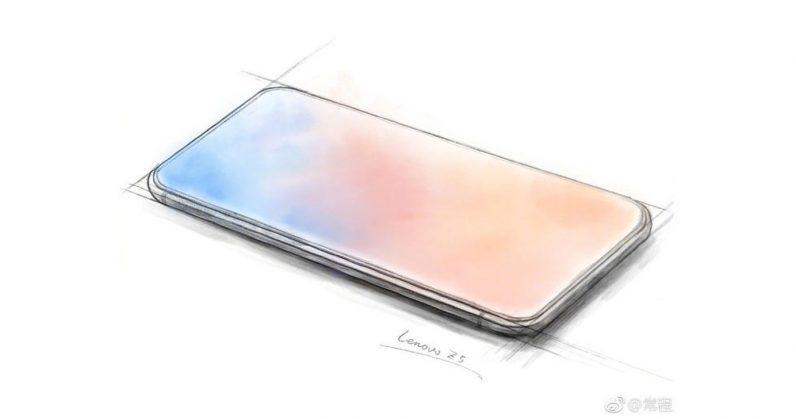 Lộ diện Lenovo Z5 với 4 viền màn hình siêu mỏng, không 'tai thỏ'