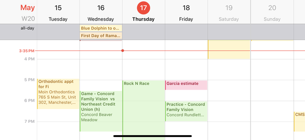 iPhone: Mẹo hữu ích trên ứng dụng Calendar