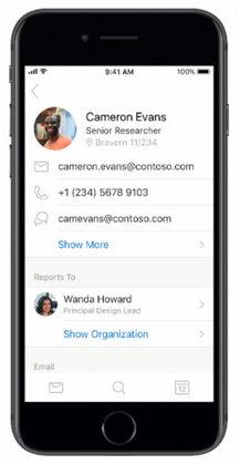 Microsoft cập nhật tính năng mới cho bản Outlook trên điện thoại