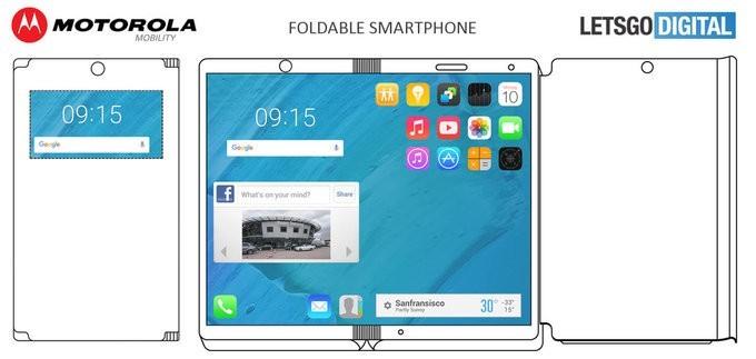 Motorola được cấp bằng sáng chế smartphone có thể chuyển thành tablet