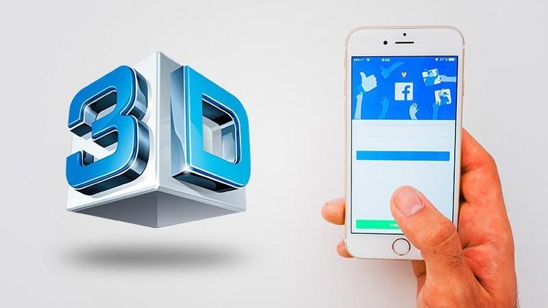 Người dùng Facebook có thể tạo ra những bức ảnh 3D