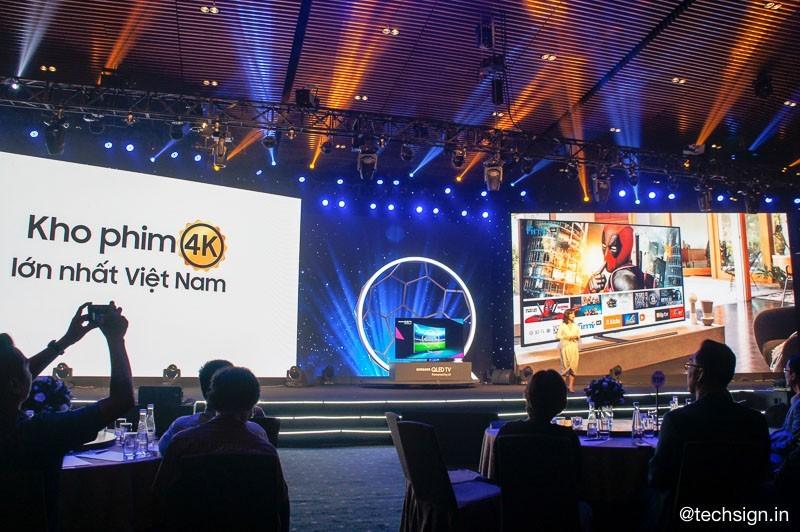 Samsung ra mắt thế hệ TV QLED 2018