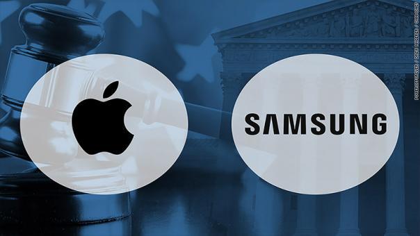 Samsung phải bồi thường hơn nửa tỷ USD cho Apple vì vi phạm bằng sáng chế