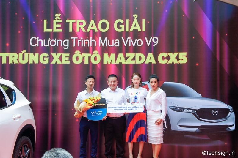 Vivo trao xe Mazda CX-5 cho khách hàng may mắn mua Vivo V9