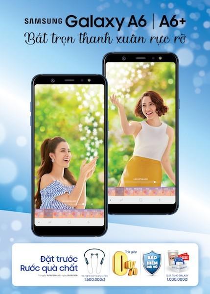 Samsung mở chương trình đặt mua Galaxy A6 và A6+