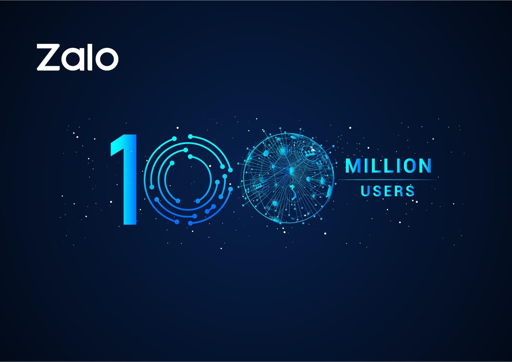 Zalo ghi nhận con số 100 triệu người dùng