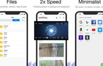 Tải nhanh Alook Browser: trình duyệt cực nhẹ cho iOS, hiện đang miễn phí