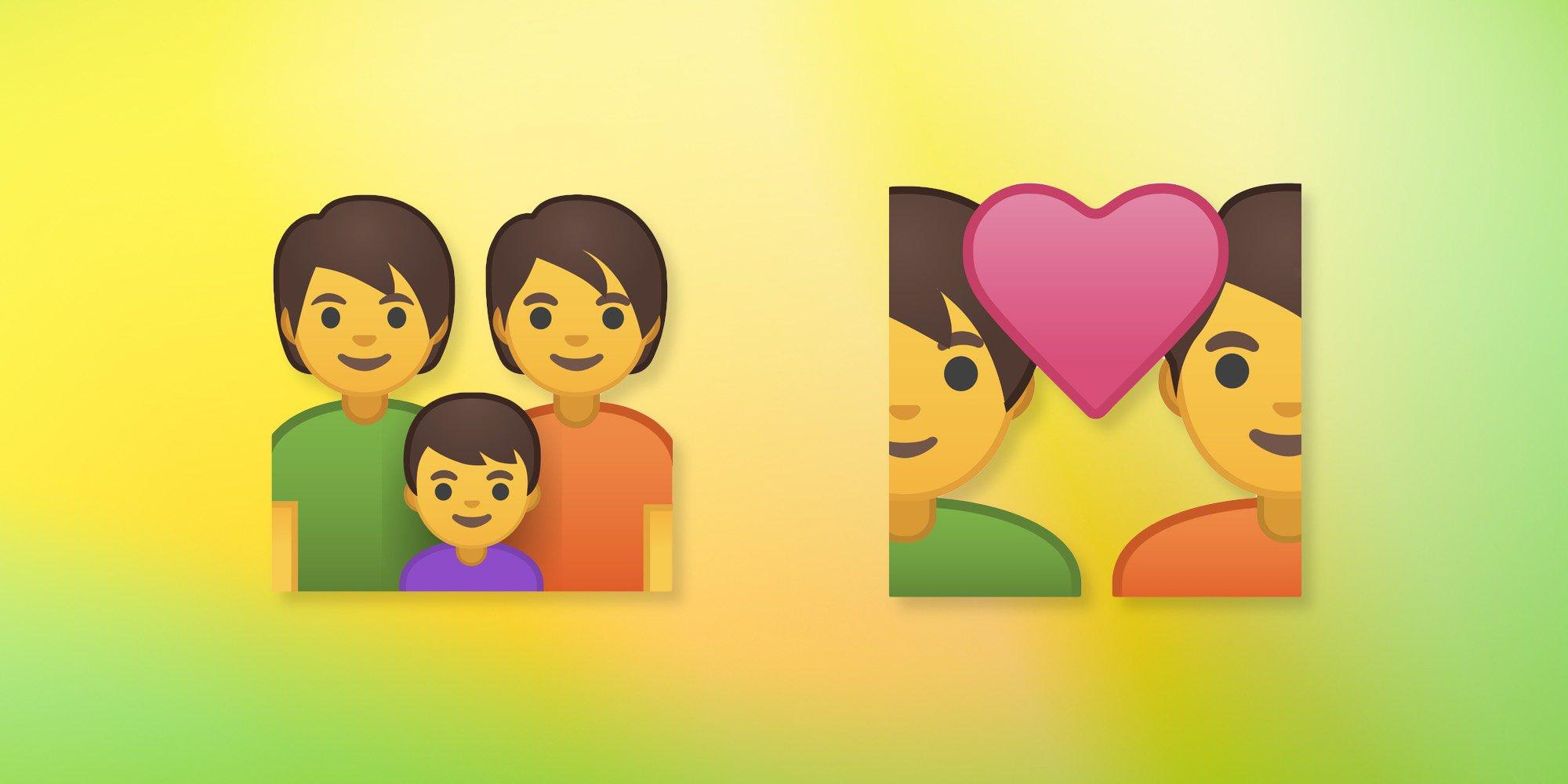 Android P Beta 2 bổ sung thêm 157 emoji mới và có tùy chọn trung tính